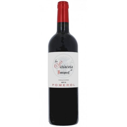 Saisons de Bourgneuf- Pomerol 2013 Chateau Bourgneuf