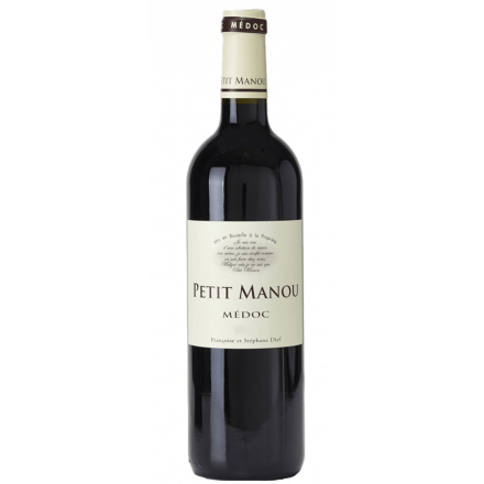 Petit Manou- Medoc 2017 Clos Manou