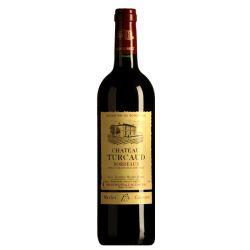 Château TURCAUD- Bordeaux rouge 2014 Cabernet Merlot