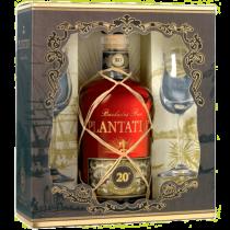 Rhum Plantation Xo 20th Anniversary Coffret + 2 verres