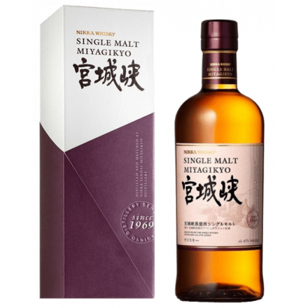 Miyagikyo Single Malt - Nikka whisky
