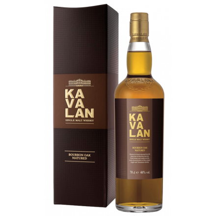 KAVALAN Ex Bourbon Oak Single Malt Whisky
