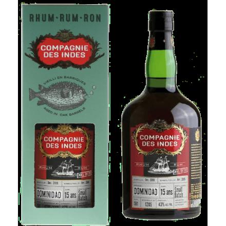 Rhum Compagnie des Indes Dominidad 15 ans Small Batch
