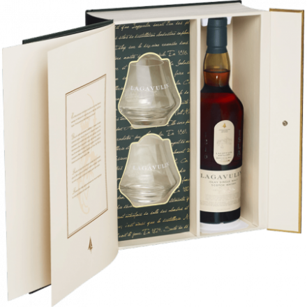 Lagavulin Distiller Edition En Coffret 2 verres