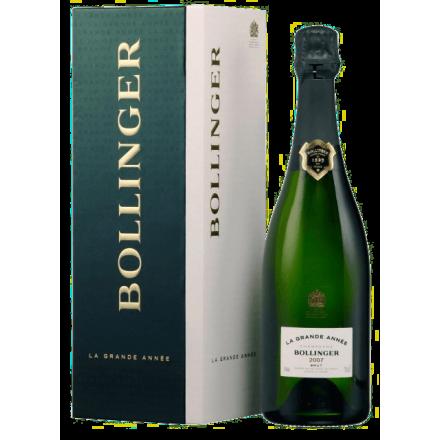 Champagne Bollinger Grande Année 2007
