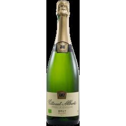 Crémant de Bourgogne Bio Blanc Vitteaut-Alberti
