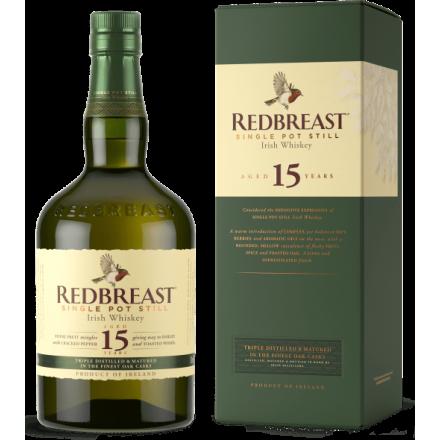 Redbreast 15 ans Single Pot Still Whisky