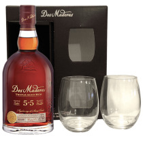 Rhum DOS MADERAS 5+5 PX Coffret +2 verres
