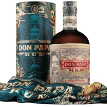 Rhum DON PAPA 7 ans COSMIC PACK